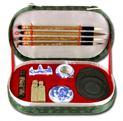 Chinese Calligraphy writing set rounded (F220)